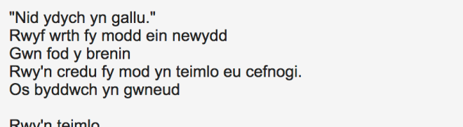 nggyu WELSH