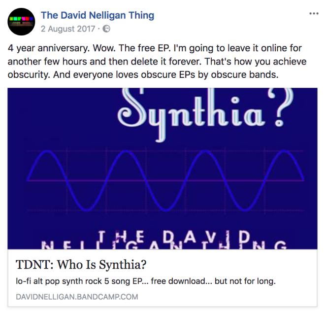 fb who is synthia takedown